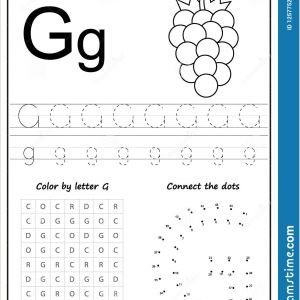 Free Color by Number Worksheets for Preschoolers