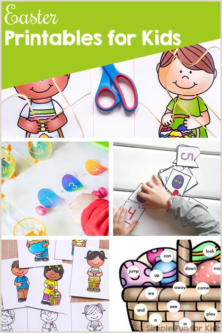 Free Easter Worksheets Color By Number