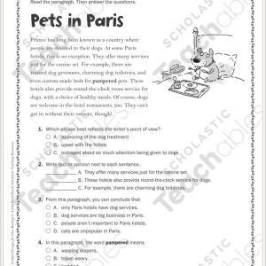 Free English Reading Worksheets for Kindergarten