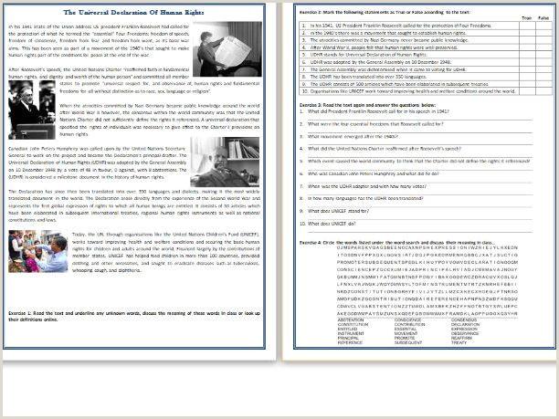 Free English Reading Worksheets for Kindergarten