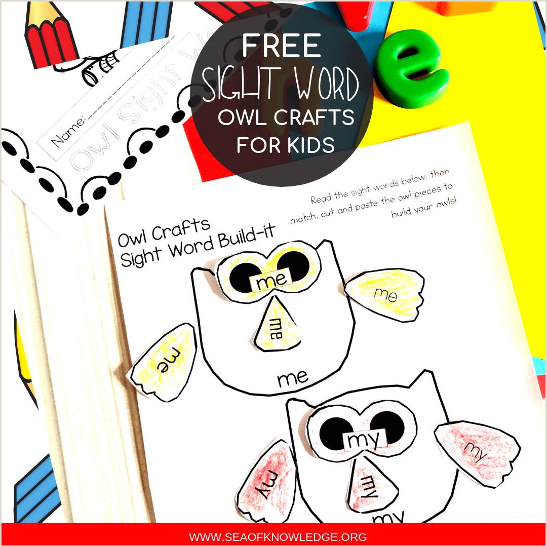Free Kindergarten Reading Sight Words Worksheets