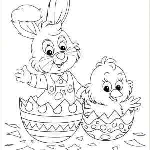 Free Printable Easter Bunny Worksheets