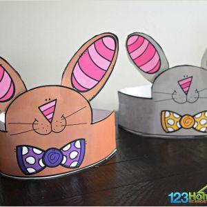 Free Printable Easter Bunny Worksheets