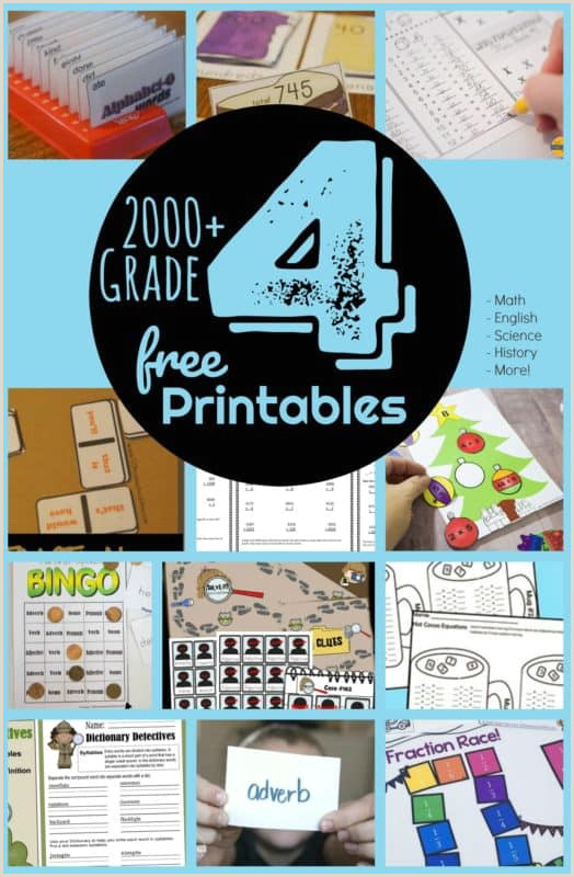 Free Printable Easter Worksheets For 4th Grade