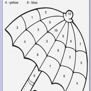 Free Printable Easy Color by Number Worksheets