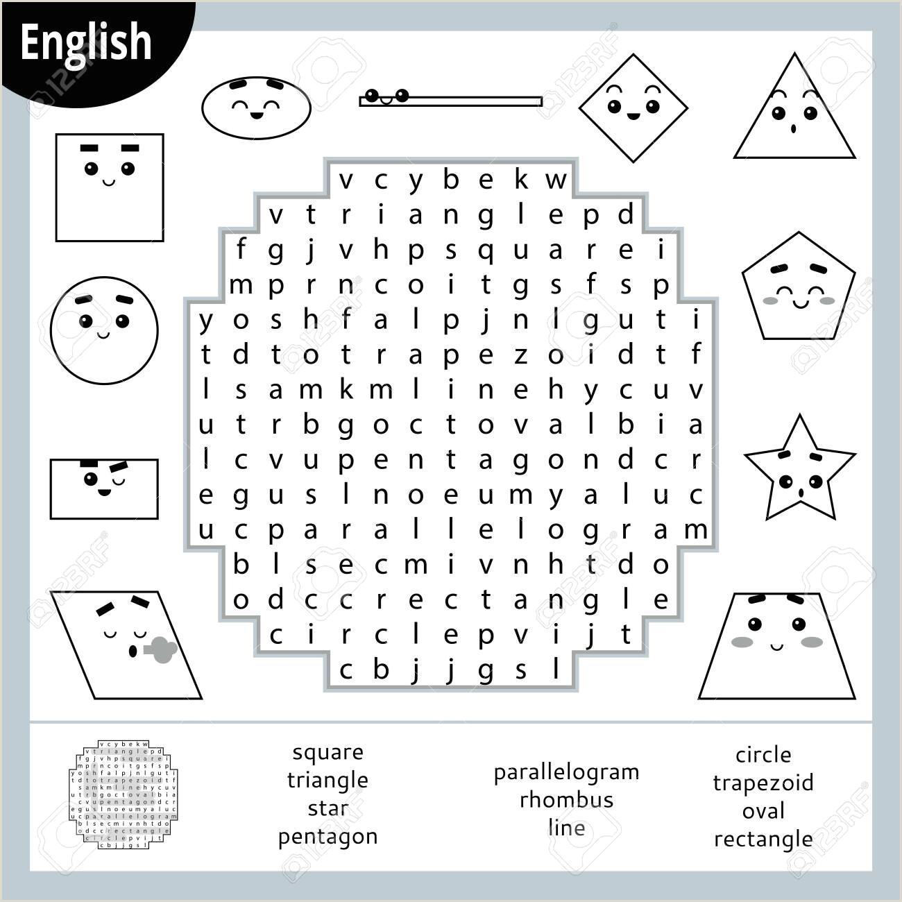 Free Printable English Worksheets For Kindergarten