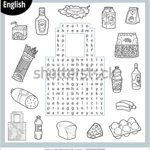 Free Printable English Worksheets for Kindergarten