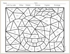 Free Simple Addition Color by Number Worksheets