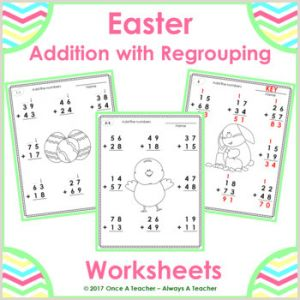 Fun Easter Worksheets Pdf