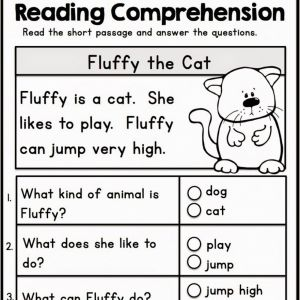 Kindergarden Kindergarten Reading Worksheets