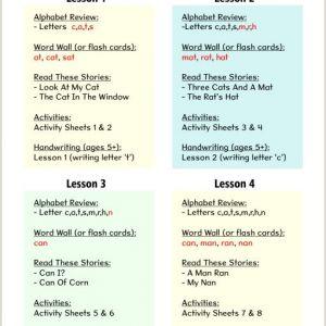 Kindergarten English Reading Worksheets Pdf