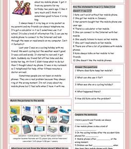 Kindergarten Level Reading Comprehension Worksheets