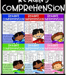 Kindergarten Reading Comprehension Pdf Free