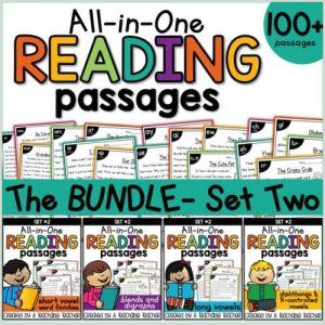 Kindergarten Reading Comprehension Worksheet