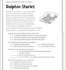 Kindergarten Reading Comprehension Worksheets Free