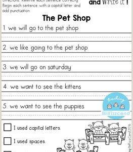 Kindergarten Reading Comprehension Worksheets Pdf Free