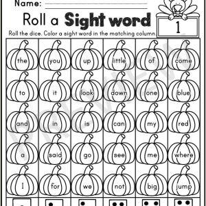 Kindergarten Reading Practice Worksheets Pdf