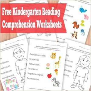 Kindergarten Reading Printable Worksheets Pdf