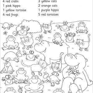 Kindergarten Reading Readiness Worksheets