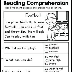 Kindergarten Reading Sequencing Worksheets
