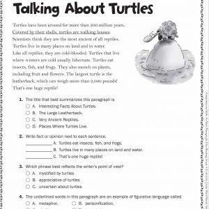 Kindergarten Reading Story Worksheets