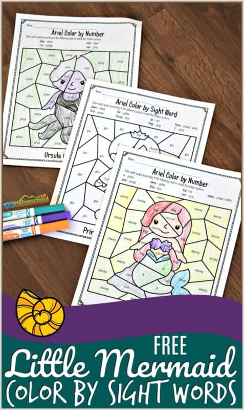 Kindergarten Reading Words Worksheets
