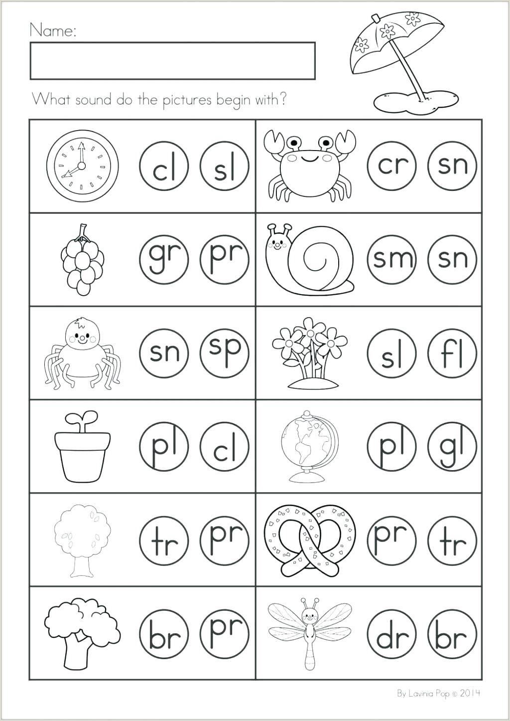 Kindergarten Reading Worksheets Free