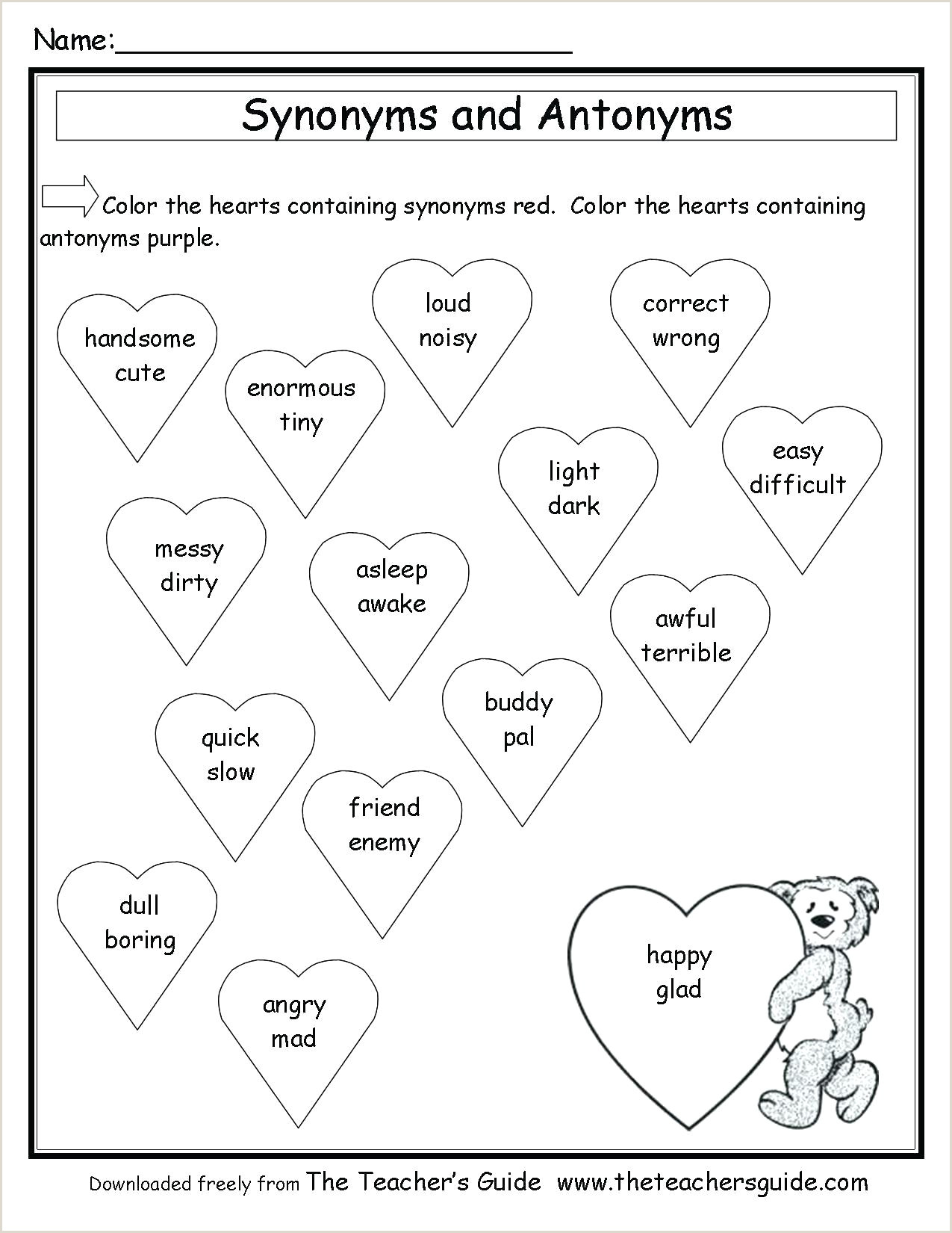 Kindergarten Reading Worksheets
