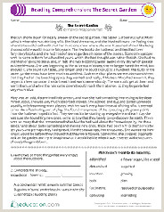 Kindergarten Reading Worksheets Printable