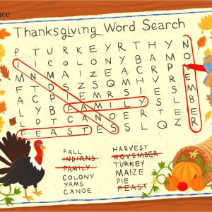 Kindergarten Thanksgiving Reading Worksheets