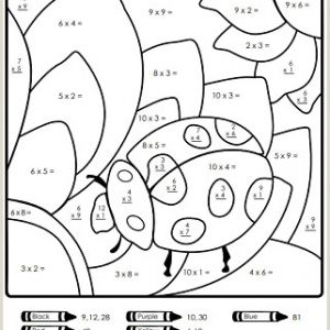 Make Your Own Color by Number Worksheets