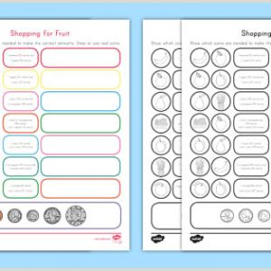 Math Easter Activities Worksheets