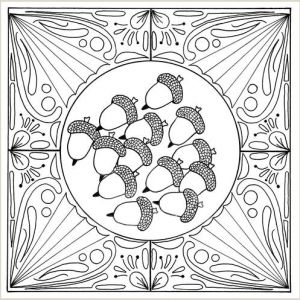 Mosaic Color by Number Coloring Pages