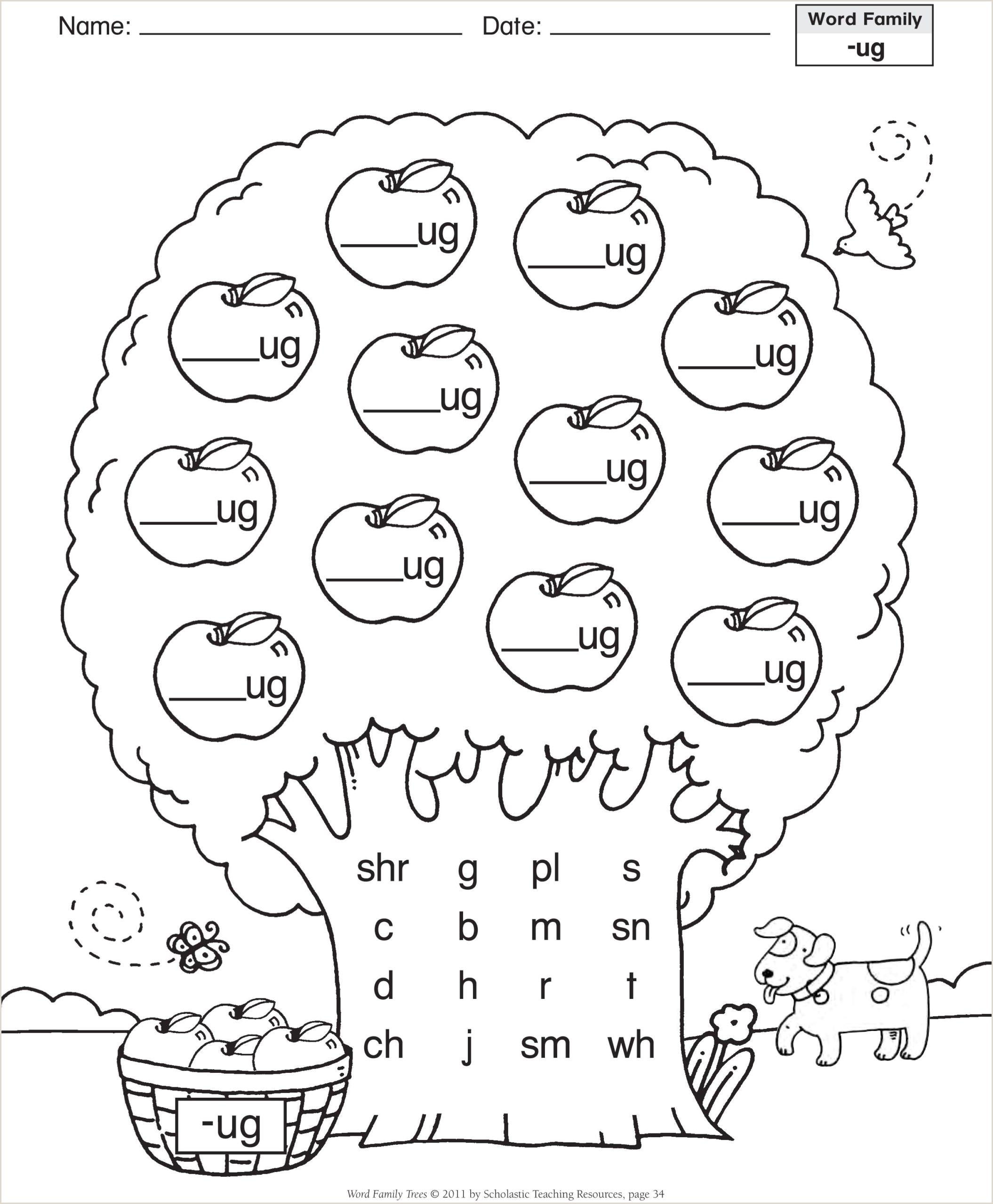 Pre Kindergarten Reading Worksheets Pdf