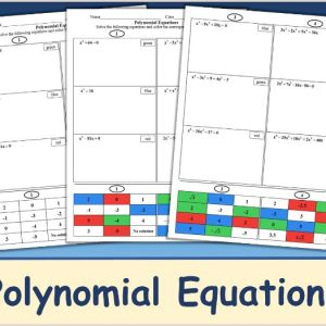 Primary Color by Number Worksheets