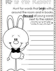 Printable Easter Worksheets for Kindergarten