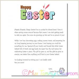Printable Religious Easter Worksheets