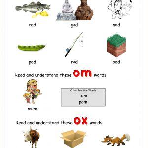 Printable Worksheets In Reading for Kindergarten