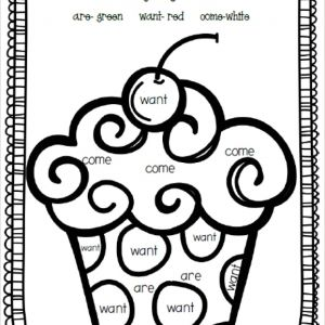 Printable Worksheets In Reading for Kindergarten