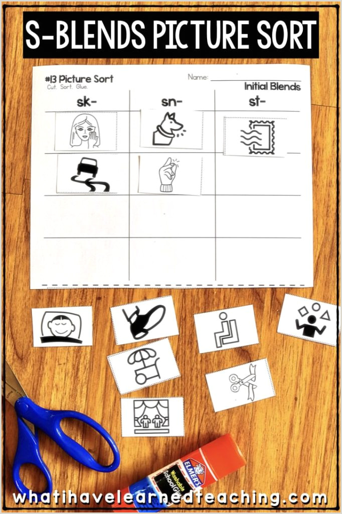 Reading and Writing Worksheets for Kindergarten