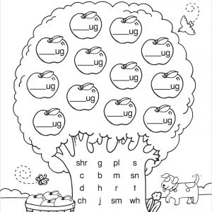 Reading and Writing Worksheets for Kindergarten Pdf
