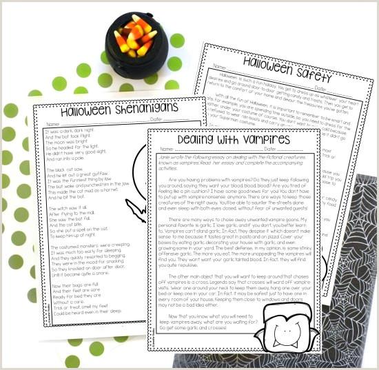 Reading Comprehension Worksheets For Kindergarten And First Grade