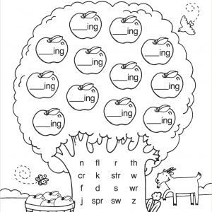 Reading Printable Worksheets for Kindergarten