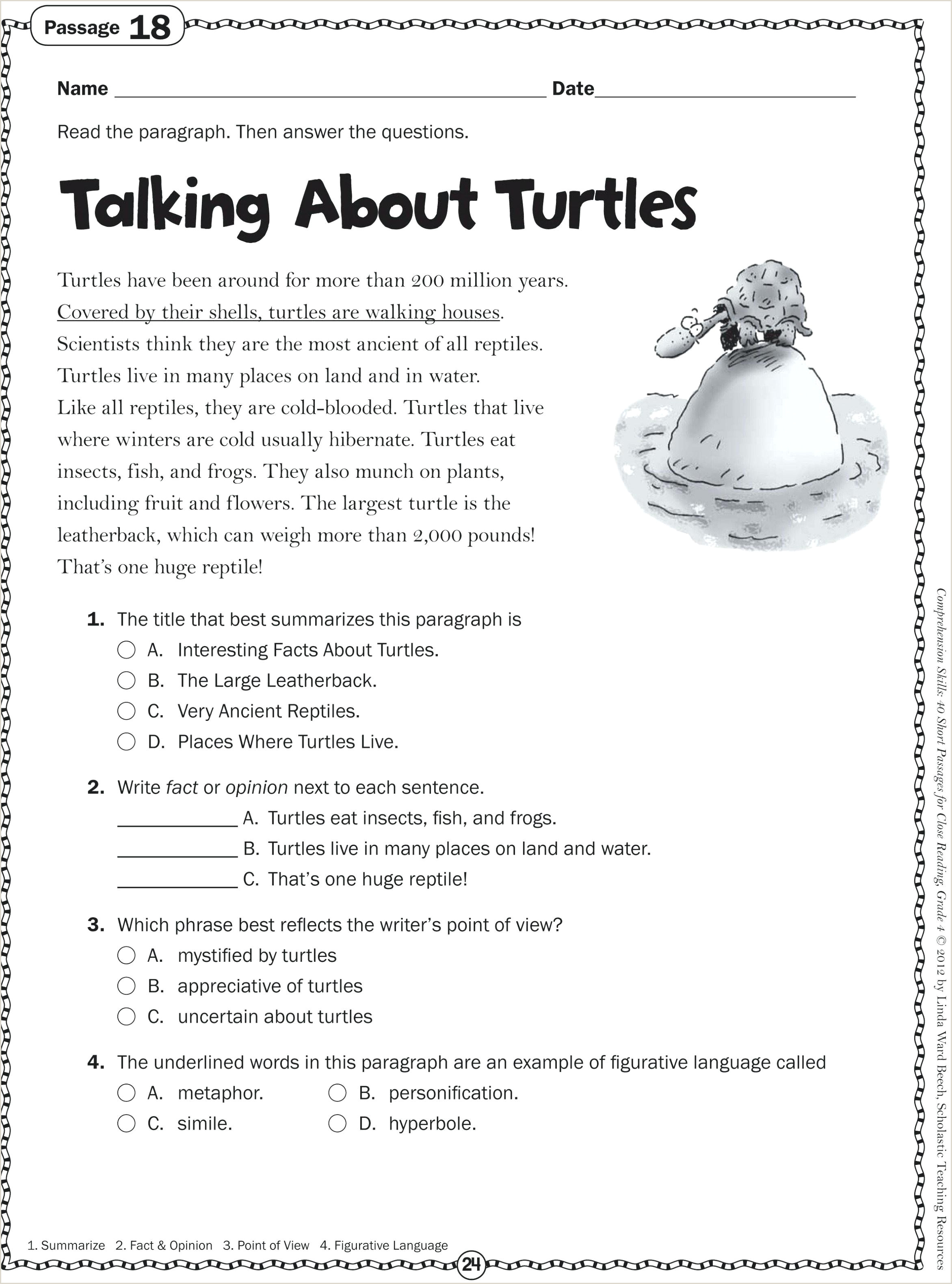 Reading Time Worksheets for Kindergarten