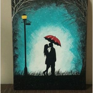 Really Easy Things to Paint On A Canvas