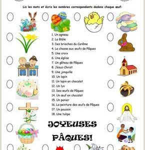 Religious Easter Worksheets for Kindergarten