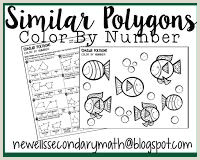 Similar Polygons Color by Number Worksheet Answers