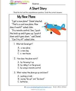 Simple Reading Passages for Kindergarten