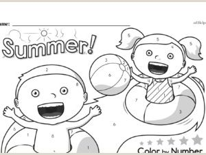 Simplifying Exponents Color by Number Worksheet Pdf