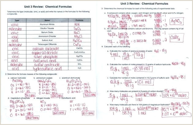 Stoichiometry Color By Number Worksheet Answers